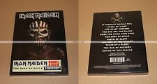 IRON MAIDEN  -  THE BOOK OF SOULS LIVRE 2 CDs - EDITION LIMITÉE  NEUF