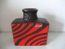 Fat Lava Keramik Vase SCHEURICH Designklassiker 60er-70er Jahre TOP (B889)xx