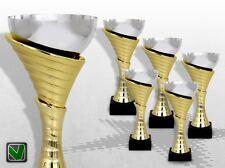 5er Pokalserie ATLANTA mit Gravur günstige Pokale kaufen TOP DESIGN