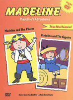 Madeline's Adventures - DVD -  Very Good - - - 1 - Unrated (Not Rated) - NTSC,Co