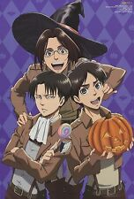 Attack on Titan The prince of tennis poster promo Eren Jaeger Yeager Levi Tezuka