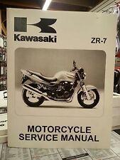 1999-2003 Kawasaki ZR-7 Motorcycle Service Manual - NEW