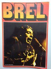 ALBUM PHOTO // BREL - JEAN PIERRE DELVILLE 1978