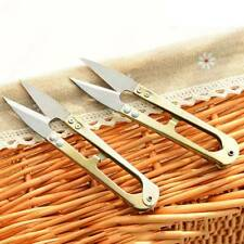Mini Safely Scissors Thread Cutting for Fabric Embroidery Needlework Sewing Tool