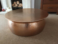 Habitat Orrico Coffee Table Rose Gold copper £250 Notting USED