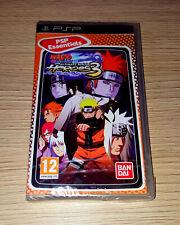 Brand New Naruto Shippuden: Ultimate Ninja Heroes 3 PSP PlayStation Portable