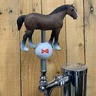 Budweiser Beer Keg Tap Handle Clydesdale Horse Bud Golf Ball Kegerator