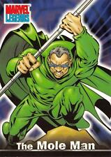 THE MOLE MAN / Marvel Legends (Topps 2001) BASE Trading Card #55