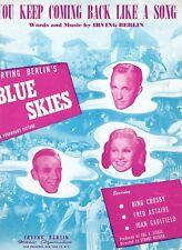 Bing Crosby Sheet Music Lot #2 1939-51