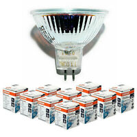 OSRAM MR16 Decostar 51 Halogen Spotlight Bulbs 12V GU5.3 20W/35W/50W Multipacks