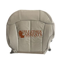 1999-2002 Chevy Silverado Suburban Passenger Bottom Leather Seat Cover Shale