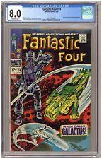 Fantastic Four 74 (CGC 8.0) Galactus; Silver Surfer; Jack Kirby; 1968 (j#6742)