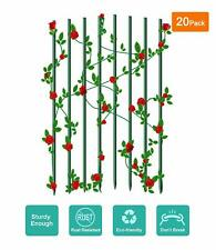 Ecostake Garden Plants Stakes Rust-free Plant Sticks Fence Post for Climbing