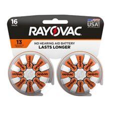 Rayovac  Zinc-Air  13  1.45 volt Hearing Aid Battery  16 pk