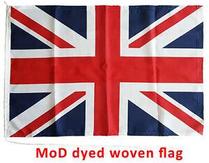 Union Jack flag MoD approved dye sublimation sewn around 3x2ft rope toggled UK