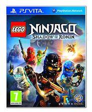 PS Vita Gioco LEGO Ninjago-ombra del Ronin per PlayStation PSV NUOVO