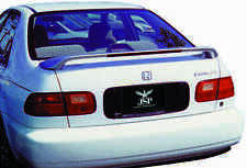 JSP 68302 Honda Civic Coupe Rear Spoiler Primed 1992-1995 Factory Style with LED
