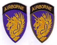 WWII - 13th AB DIVISION (Set de 2 - Reproductions)