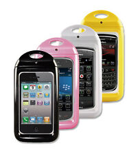New Aryca Wave WaterProof Case for iPhone, Android & Blackberry (Pink) WSI3P