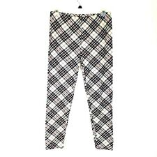 Extra Plus Size Tartan Plaid Print Soft Ankle Leggings Womens Extra Plus 16-24