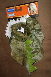 Fetchwear Halloween Green Dinosaur Costume  Size XSmall  Brand New
