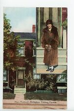 "Mary Pickford Birthplace Antique TORONTO ""Canada Series"" Postcard ca. 1910s"