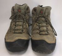 Merrell Brindle/Red Clay Hiking Trail Shoes Boots Mens 12 Preowned