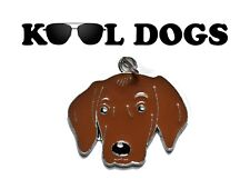 Vizsla Dog ID Tag / Key Ring / Charm / Zip Puller