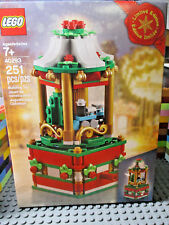 Lego 40293 Christmas Exclusive Carousel 2018 Limited Edition New!
