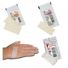 3M Steri-Strip Reinforced Skin Wound Closures - All Sizes & Amounts- Top Quality