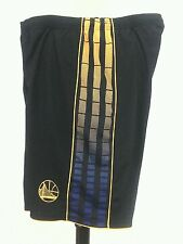 ADIDAS Golden State Warriors Black Swingman Performance Shorts Mens XL RARE!