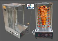 NEW 40 LBS Shawarma Machine Rotisserie Broiler Shish Kebab Kabab Kabob Model TO1