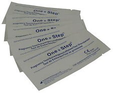 One Step Highly Sensitive 10mIU Pregnancy Test Strips