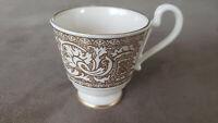 "Rare Vintage Demitasse Expresso Cup. Franciscan Ware made in Roseville CA. 2.5"""