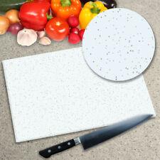 Premier Range White Granite Galaxy Glass Worktop Saver Chopping Board