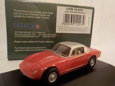 Lotus Elan, Red, Model Cars, Oxford Diecast