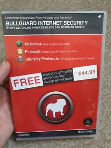 BullGuard Internet Security - Disc with Serial Code - Version 9 Windows 7