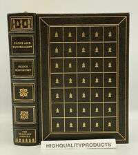 Franklin Library CRIME AND PUNISHMENT Dostoevsky Collectors LIMITED Edition FULL