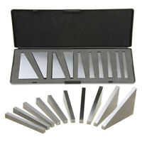 10pcs Precision Angle Blocks Set 1 to 30 Degree CNC For Lathes Gauge Tool