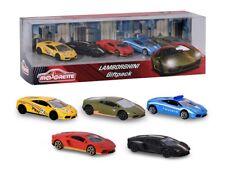 Majorette 212053162 - Lamborghini Giftpack 5 Fahrzeuge - Neu