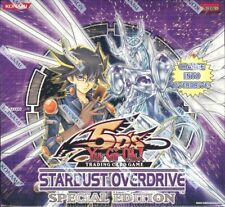 YUGIOH STARDUST OVERDRIVE SPECIAL EDITION BOX BLOWOUT CARDS