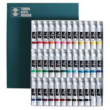 Turner Acrylic Gouache Paint 20ml 36 Colour Set