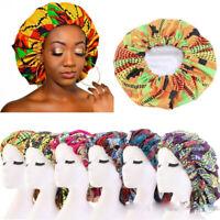 African Print Bonnets Night Sleep Hat Chemo Hair Loss Cap Turban Muslim Headwear