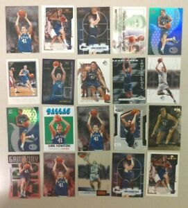 20 Card Lot of DIRK NOWITZKI Mavericks A must have for any collector! FREE S&H!!