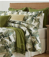 TOMMY BAHAMA Fiesta Palms  Tropical KING 3 PC Cotton Comforter Set ~ NEW