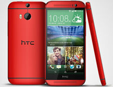 HTC One M8 - 16GB - Red (Unlocked) Smartphone Very Good Condition