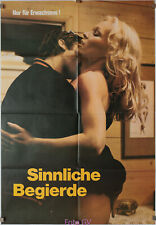 Filmplakat Sinnliche Begierde/Sensual Encounters of Every Kind 1978 Serena