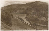 Looking Down Glen Affaric Inverness-shire  Real Photo J.B White