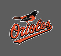 Baltimore Orioles Logo 2009 - 2018 Sticker Vinyl Vehicle Laptop Decal
