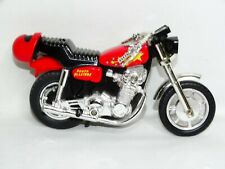 VTG Matchbox 1983 Power Blaster Stunt Motorcycle Bike Pull String Nostalgia